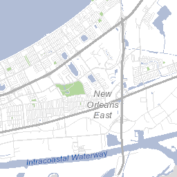 HDLC Map City of New Orleans